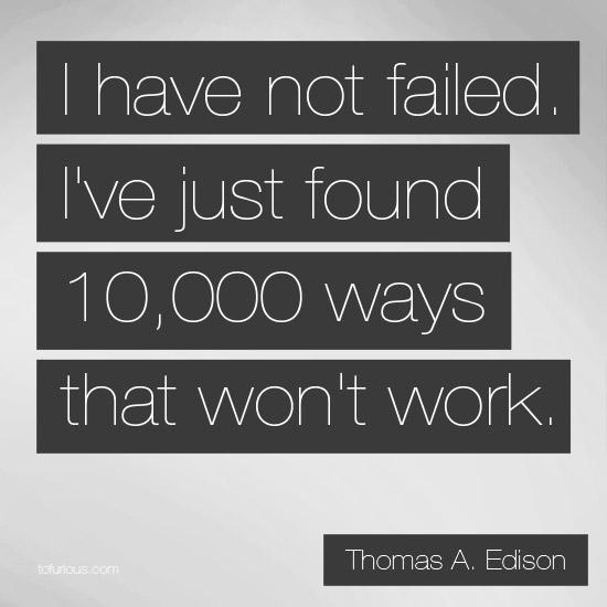 Failure Isn't Failure