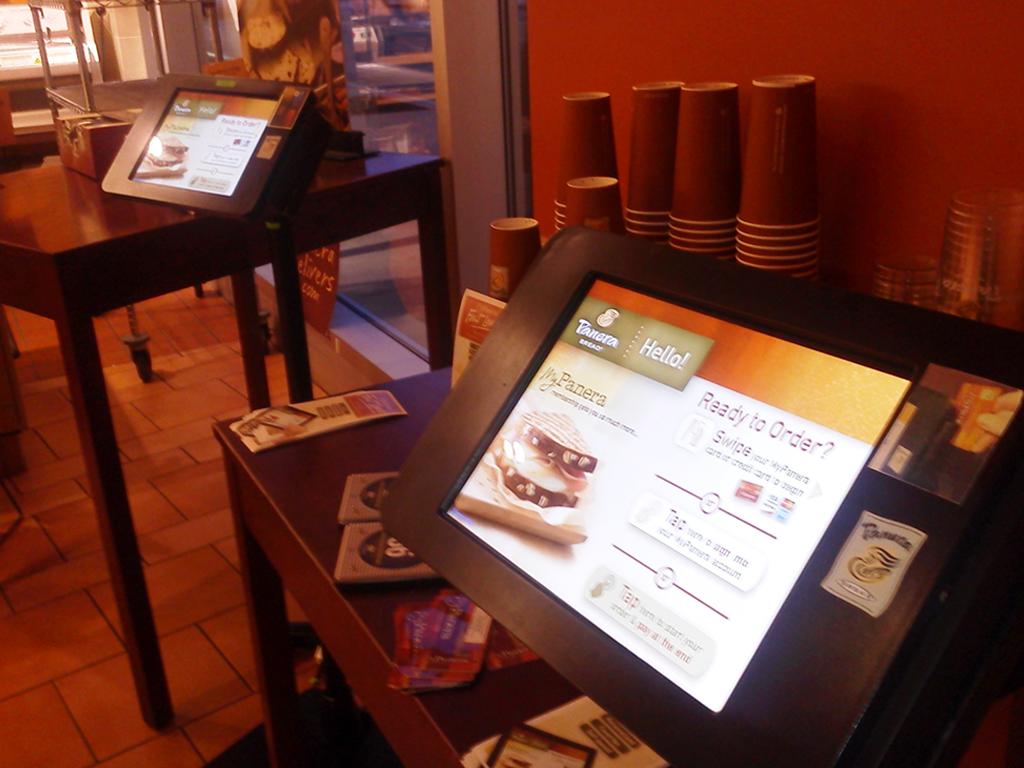 Panera kiosk: a half-baked idea